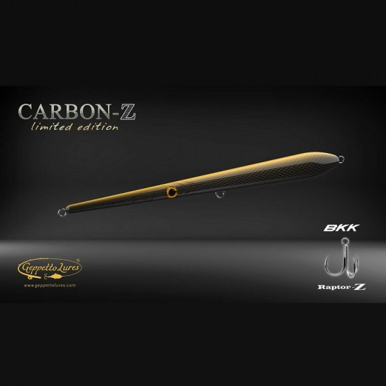 Needle Geppetto Lures Narak 230-F col Carbon Z ''Limited Edition''